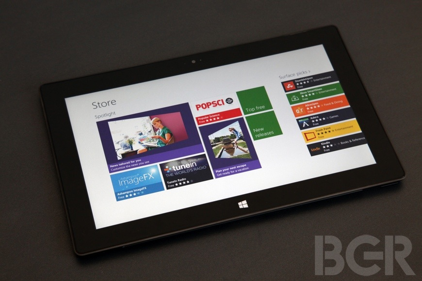 Microsoft Surface Teardown iFixit