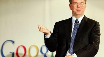 Google CEO Eric Schmidt