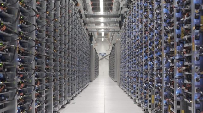 Google Data Center Street View
