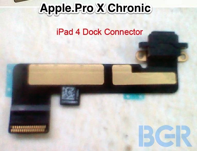 iPad 4 parts leak before iPad mini