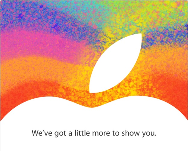 Apple iPad mini invite for event