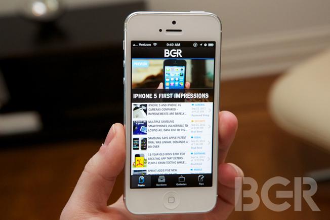 iPhone 5 Q4 2012 Sales