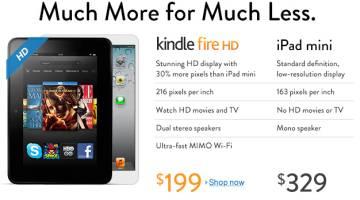 iPad Mini Vs Kindle Fire HD