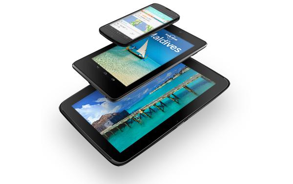 Nexus 4 Nexus 10 Release Date