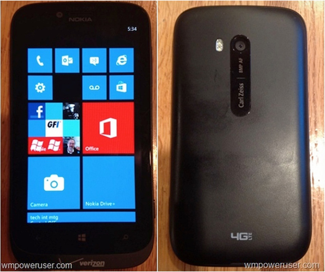 Verizon Nokia Lumia 822 Leak