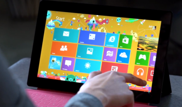 Microsoft Surface Video