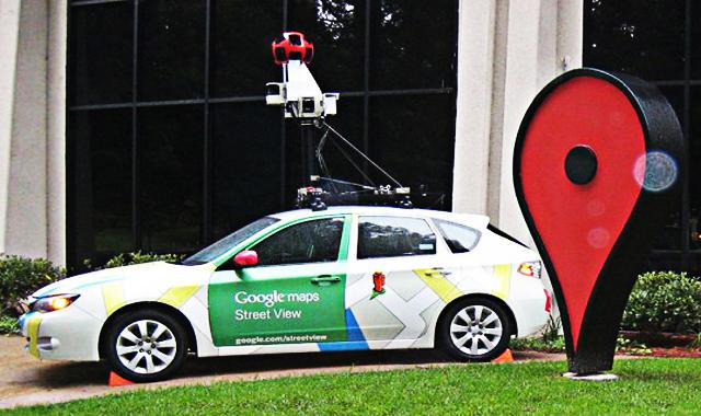 Google Maps Street View iPhone