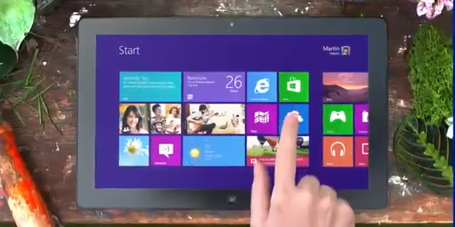 Microsoft Windows 8 Commercials