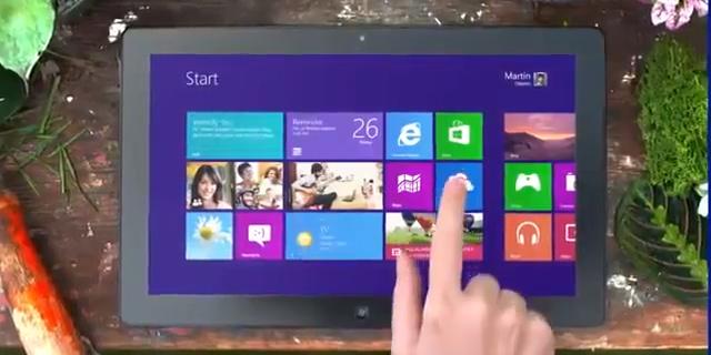 Microsoft Windows 8.1 Live Tiles