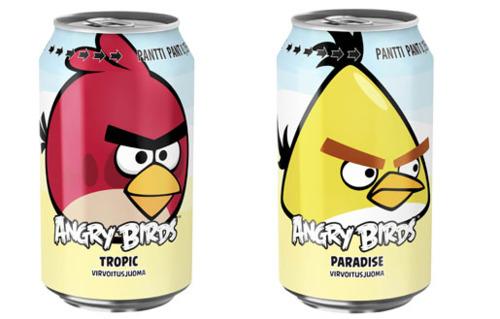 Rovio Angry Birds Soda