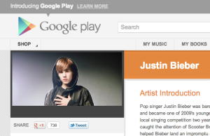 Google Play: Google+ Name