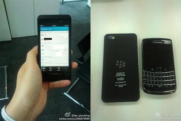 BlackBerry L-Series Leak