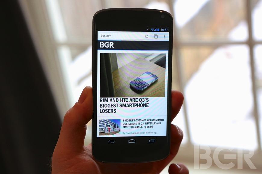 Google Nexus 4 Sales