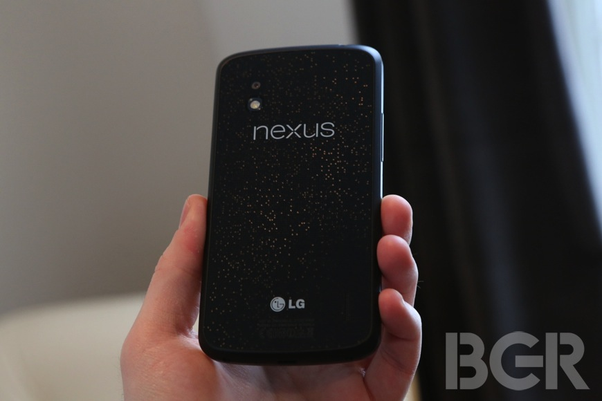 Nexus 4 LTE Hack Blocked