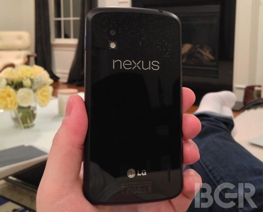 Google Nexus 4 first impressions