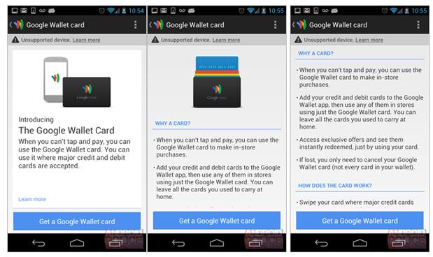 Google Wallet Card Rumor