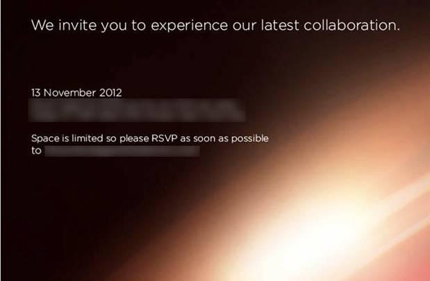 HTC Verizon November 13th Event