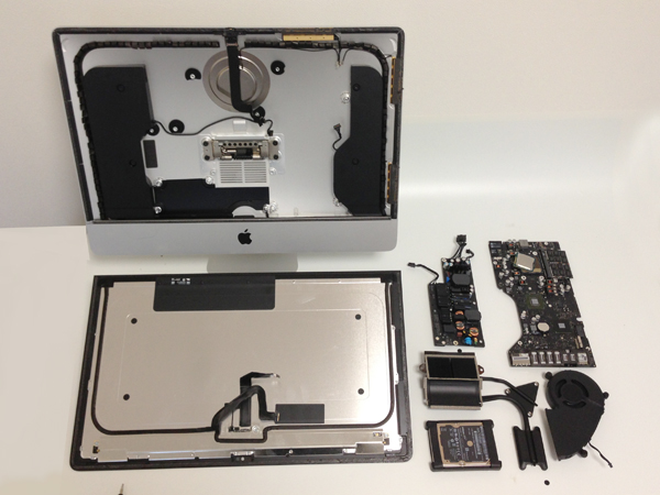 Apple iMac Late-2012 Teardown