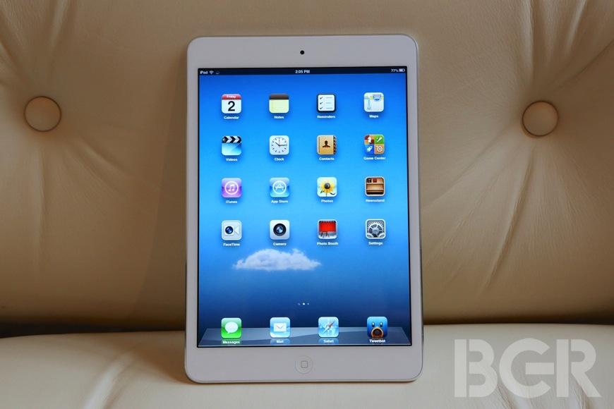 iPad mini first impressions