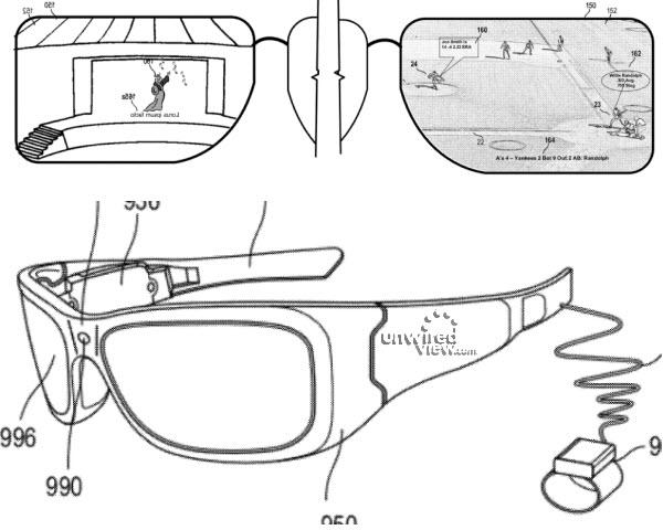 Microsoft HUD Glasses