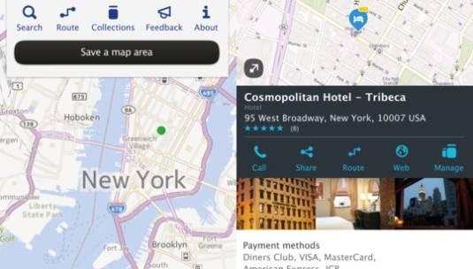 Google Maps Nokia Maps