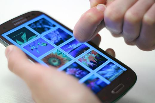 New Touchscreen Technology