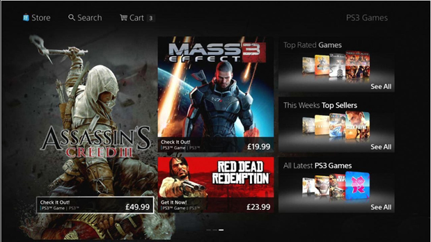 Sony PlayStation Store Redesign Release Date