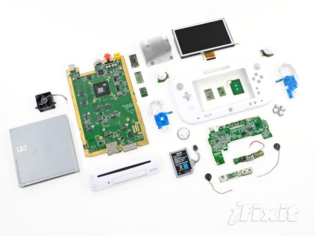 Nintendo Wii U Teardown