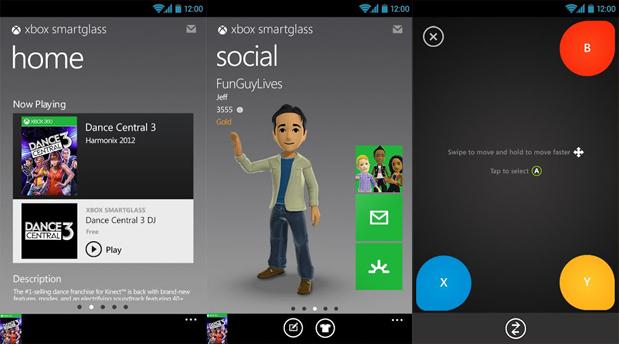 Xbox SmartGlass Android App