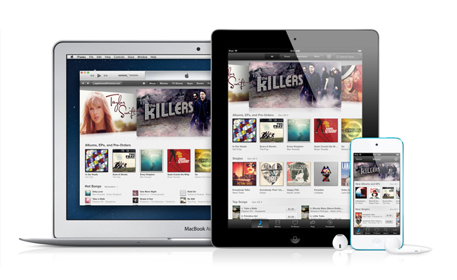iTunes Android App Launch