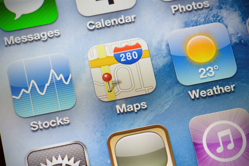 Apple Maps Locationary Acquisition