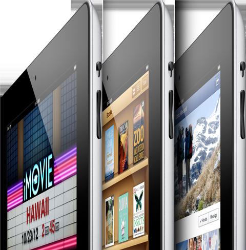 Tablet Market Share Q4 2012