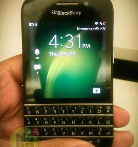 BlackBerry X10 Photos Leak