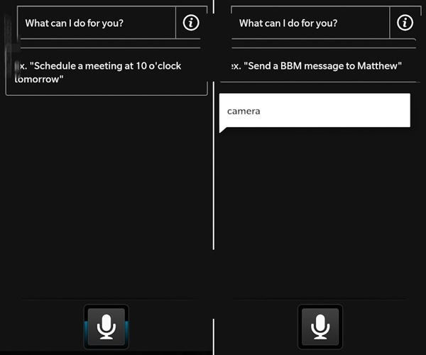 BlackBerry 10 Voice App