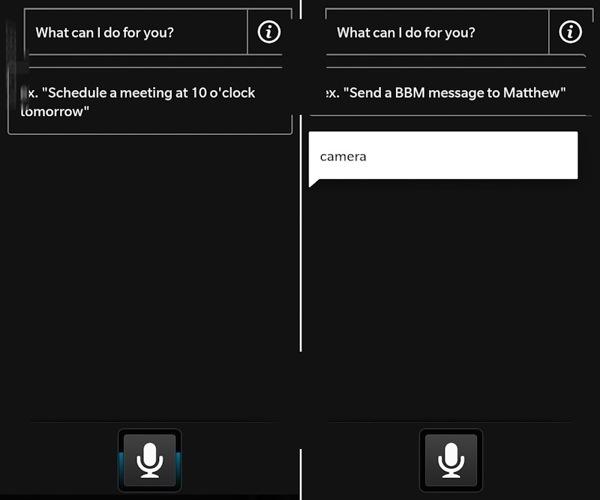 BlackBerry 10 Voice App