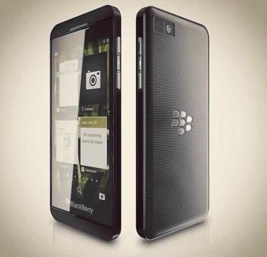 BlackBerry Z10 Specs Rumor