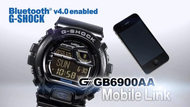 Casio Bluetooth G-Shock Watch