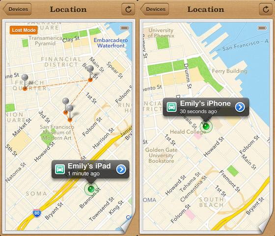 Find My iPhone Update