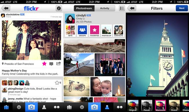 New Flickr iPhone App