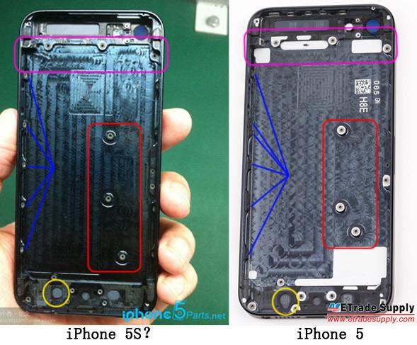 Apple iPhone 5S Leak