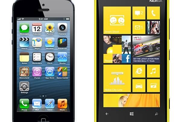 iPhone Lumia China