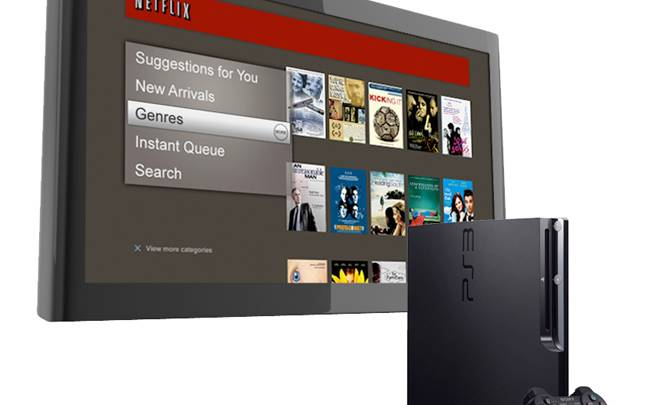 Netflix Streaming PlayStation 3