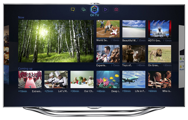 Samsung Smart Hub Redesign