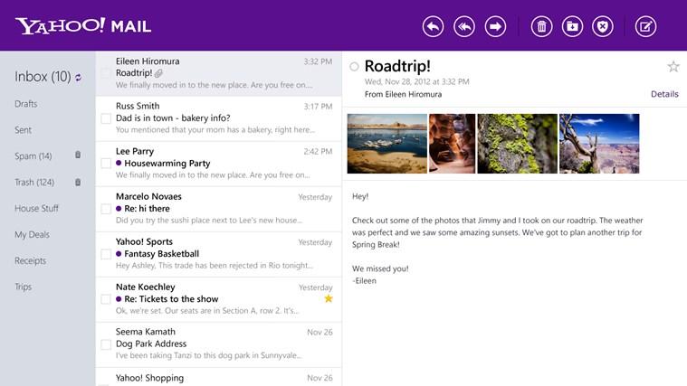 Yahoo Mail Revamp
