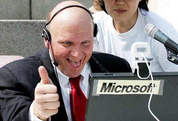Ballmer Thumbs Up