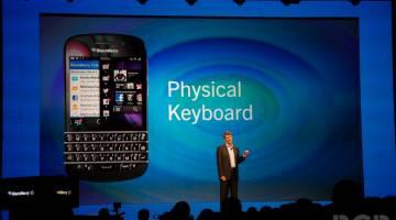 BlackBerry Z10, Q10 Announced