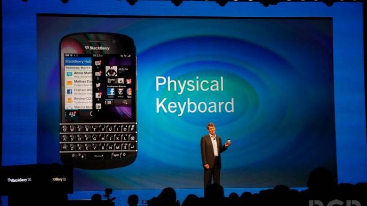 BlackBerry Market Share Q4 2013