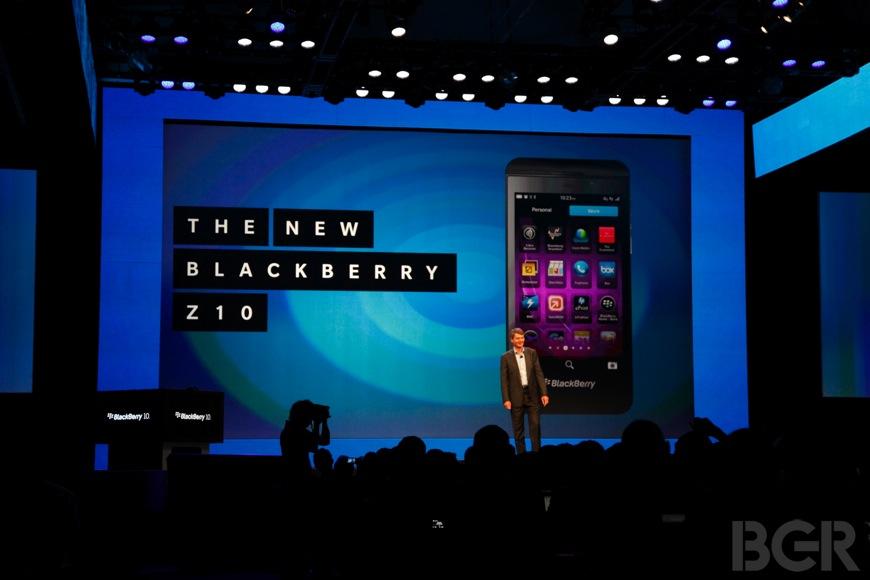 BlackBerry Z10 Launch