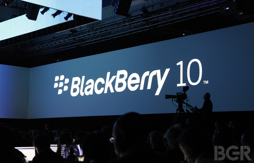 BlackBerry 10 Installed Base 2013