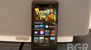BlackBerry Z10 Supply Orders